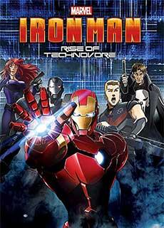 Người Sắt: Sự Nổi Giận Của Technovore (2013) Iron Man: Rise Of Technovore (2013)