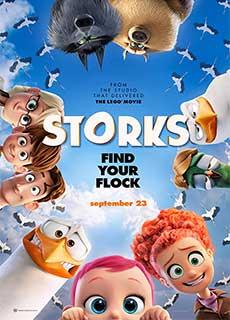 Tiểu Đội Cò Bay (2016) Storks (2016)